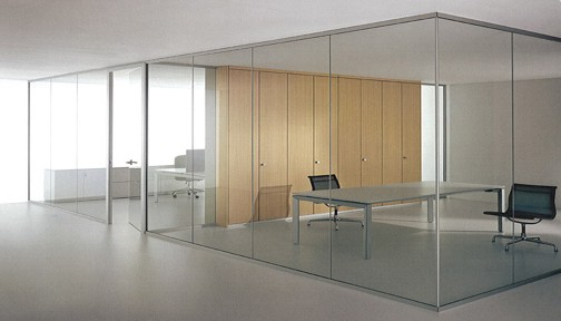Frame-less Glass partitions